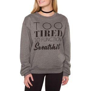 Super Comfy Graphic Sweatshirt